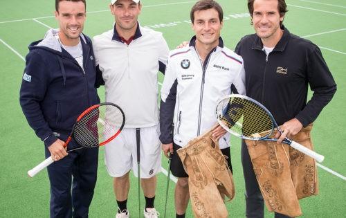 BMW Open: Tennis zum Aufwärmen