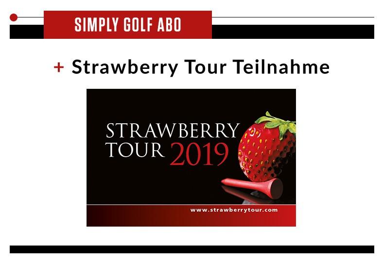 Simply Golf + Strawberry Tour Karte