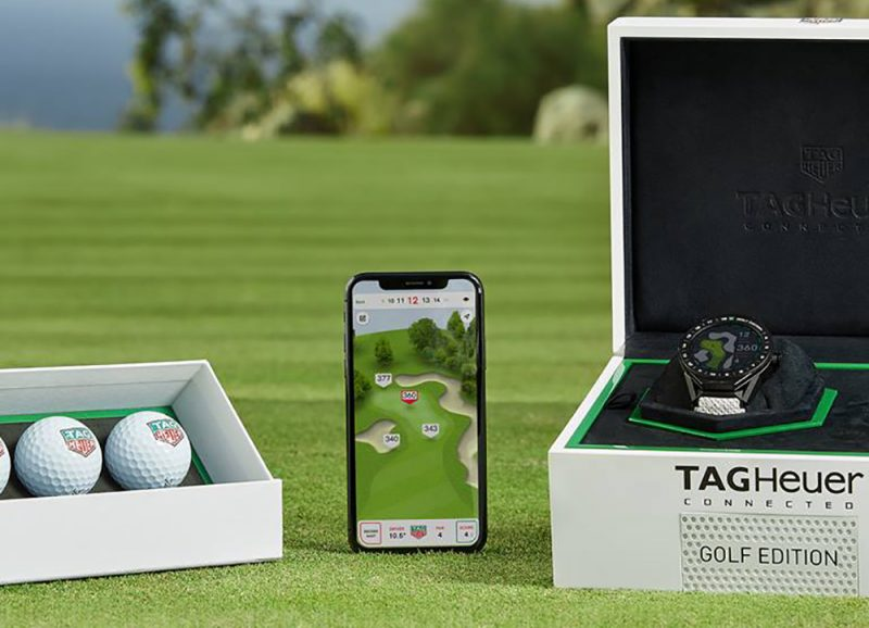 TAG Heuer bringt Golf-Uhr & App auf den Markt