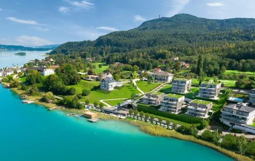 Direkt am Golfplatz Dellach: Hermitage Vital Resort