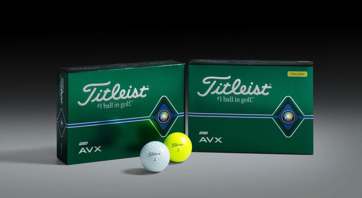 Titleist AVX als Ergänzung zum Verkaufsschlager Pro V1 und V1x
