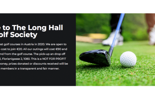Premiere in Wien: The Long Hall Golf Society