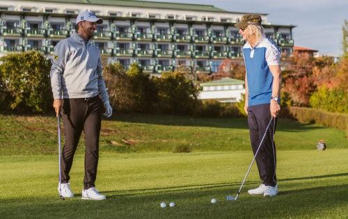 Reiters Reserve: Bernd Wiesberger und Karl Reitereröffnen offiziell die Golf-Saison