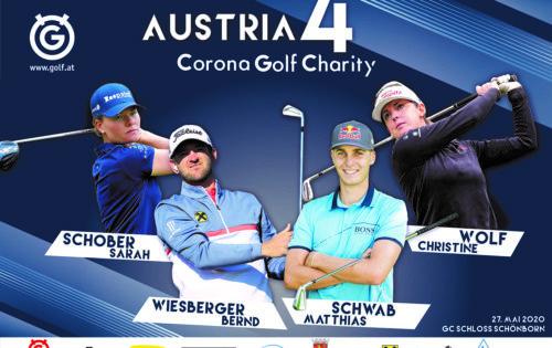 Fix: Wiesberger vs. Schwab, Wolf & Schober beim AUSTRIA 4 – Corona Golf Charity