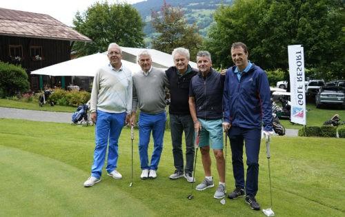 GOFUS Österreich:  Sportprofis golften für den guten Zweck in Schruns