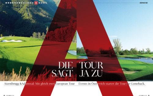 Die European Tour sagt Ja zu A: Österreich spielt 2 Events im Juli