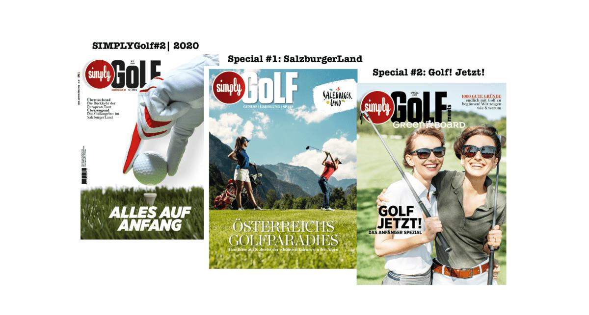 SimplyGolf Cover Ausgabe 2/2020