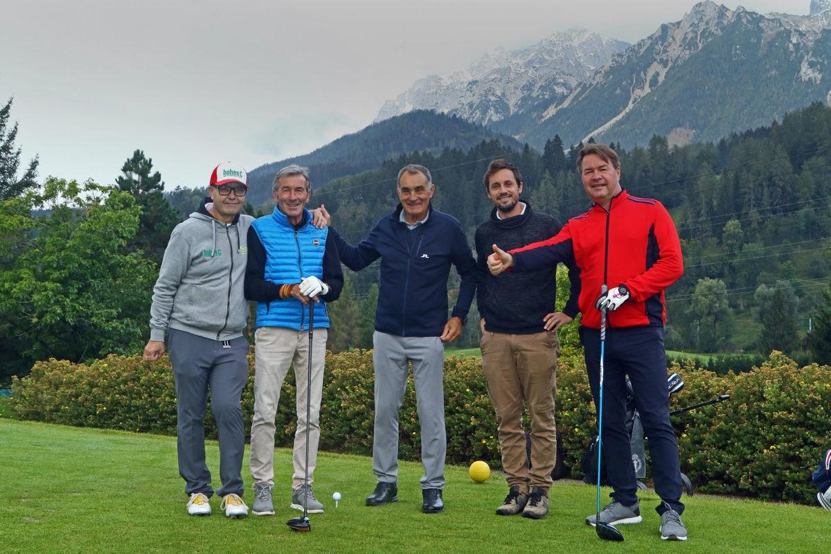 Sepp Haider gewinnt zweites Golf- und Rallye-Turnier