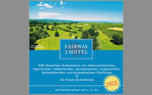 SimplyGolf-Jahresabo & Fairway2Hotel um nur €79