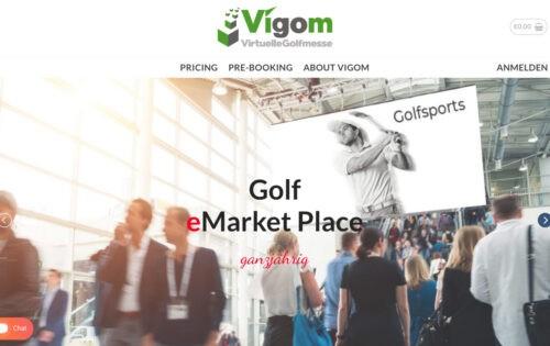 VIGOM – die erste virtuelle Golfmesse im DACH-Raum ist eröffnet