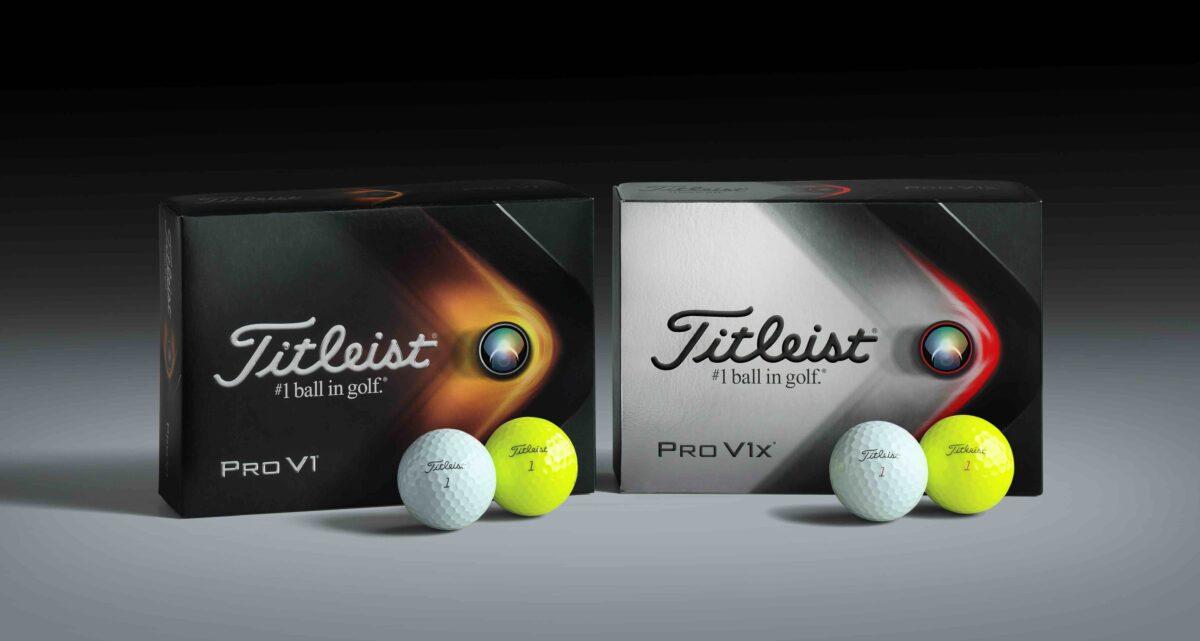 Neuer Jahrgang: Titleist Pro V1 & Pro V1x