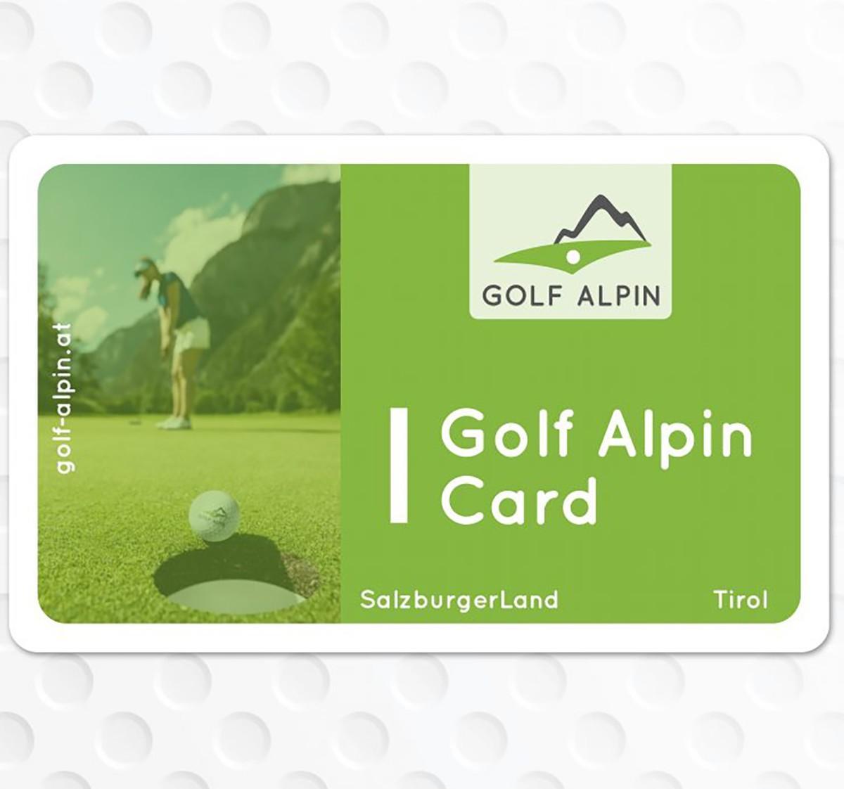 Golf Alpin Card: Eine Karte, 40 Golfplätze - plus: Gewinnspiel!