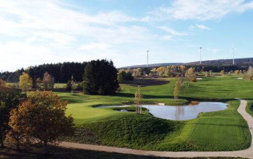 Der Golfpark Bostalsee eröffnet 2022 moderne 18-Loch-Golfanlage