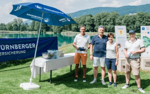 NÜRNBERGER und GARANTA golften für den guten Zweck