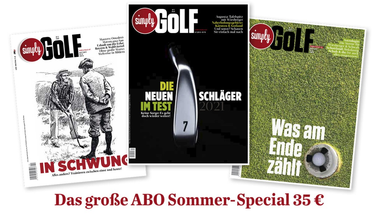 SimplyGOLF Sommerspecial