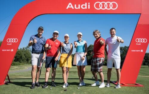 Nicole Hosp und Nick Petersen triumphieren beim Audi Turnier der Weltmeister