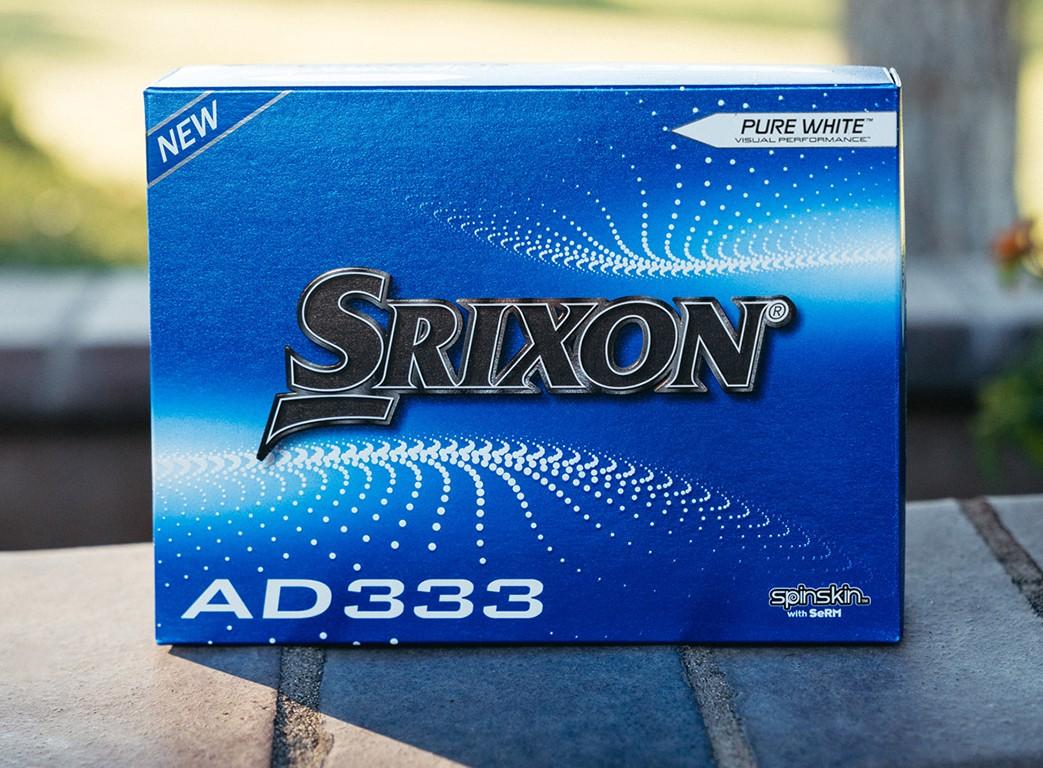 Srixon: 10. Generation der AD333 Serie
