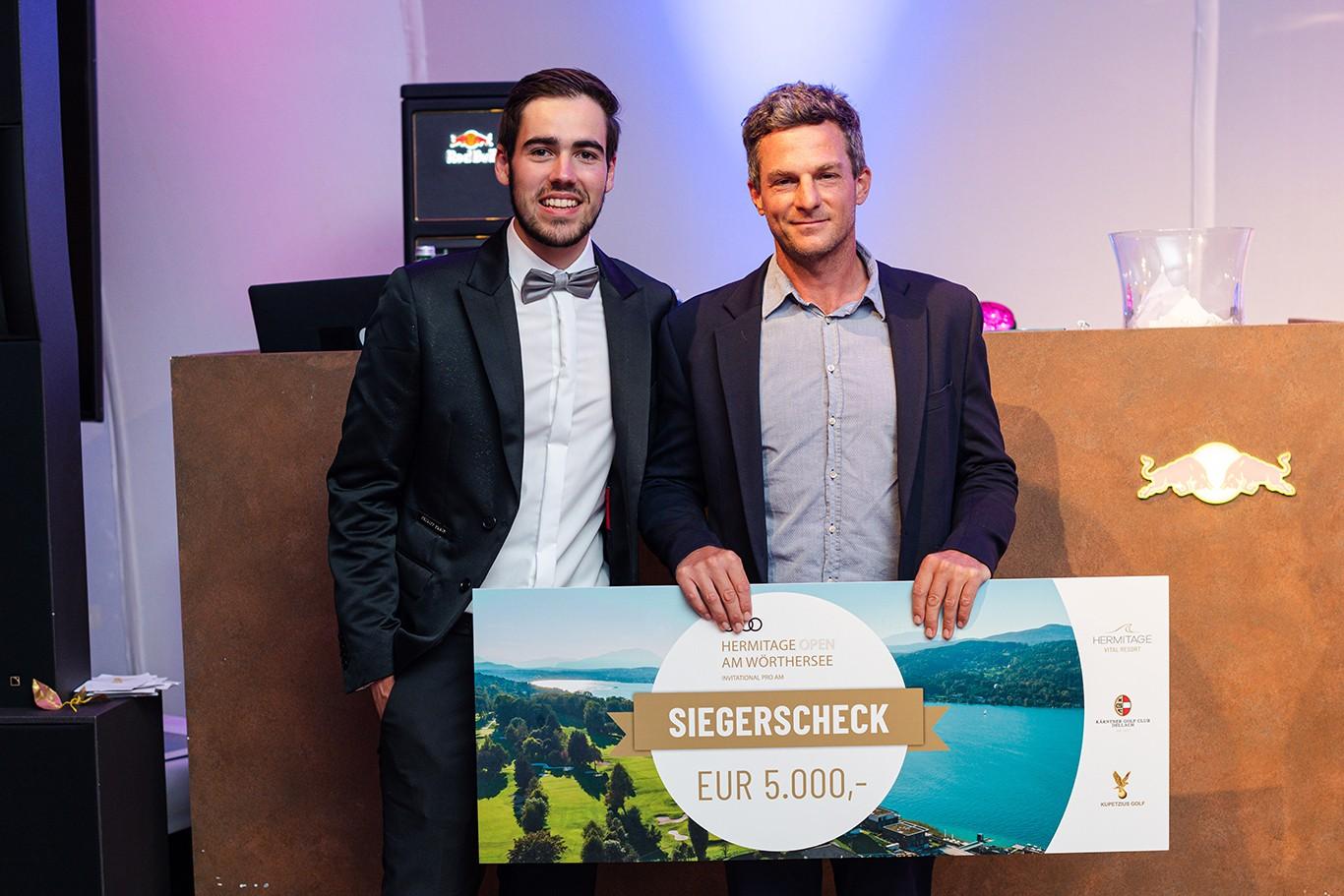Hermitage Open Pro/AM: gelungene Premiere am Wörthersee