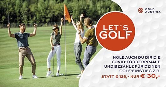 Let's Golf: Gemeinsam Golfen macht doppelt so viel Spaß!
