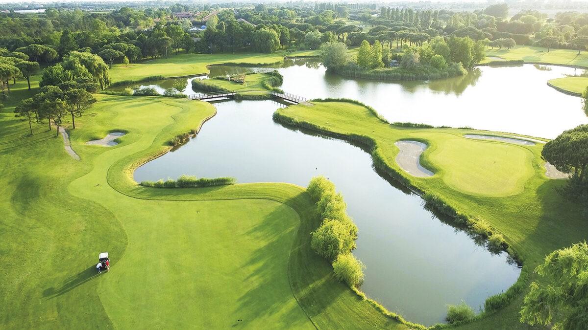 Der Sonne entgegen: Springer Golf Open Lignano